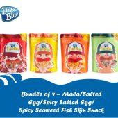 Bundle of 4 - Fish Skin Snack (100g)