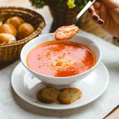 RTE Soup - Crabmeat Bisque